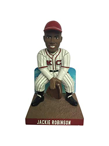 Jackie Robinson Kansas City Monarchs Limited Edition Bobblehead - Numbered to 2,019 - Negro Leagues - Dodgers ()