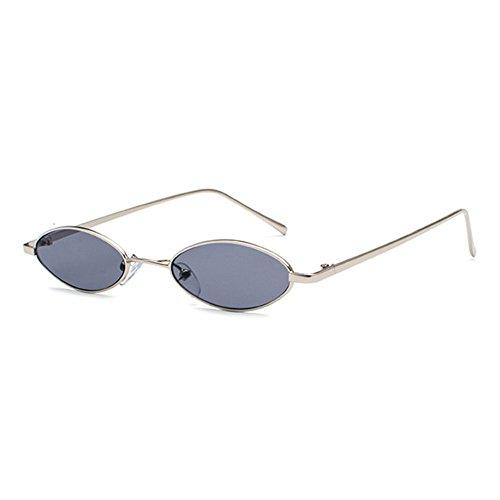 Mxssi de pour hommes lunettes soleil soleil lunettes ovales femmes petites lunettes Vintage C5 de petites qp1xYrpt