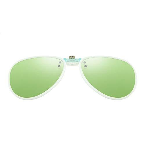de de Gafas polaridades la Los de Las de D los miopía KOMNY Hombres de Las de reflejan Gafas Sol y Retros de Clips Las Mujeres de Sol la un miopía Las 0Tw0BHxq