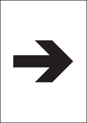 A4 flecha efecto latón - carteles - señales de seguridad ...