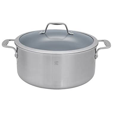 Zwilling J.A. Henckels Thermolon Coated Dutch Oven with Lid, 8 Quart