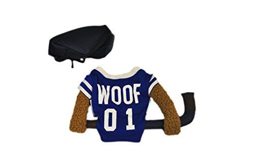 Silver Paw NHL Hockey Reality Dog Costume, X-Large, Blue (Hockey Costume Dog)