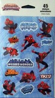 Marvel Ultimate Spider-man Stickers (45 Stickers) Marvel Spider Man Sticker