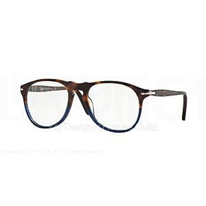 PERSOL Eyeglasses PO 9649V 1022 Terra E Oceano 52MM