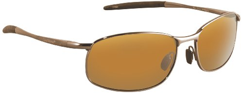 Flying Fisherman San Jose Polarized Sunglasses (Copper Frame, Amber (Fly Fishing Sunglasses)