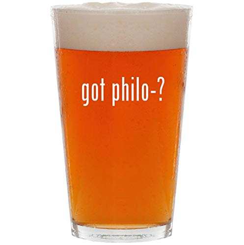 Byblos Glasses - got philo-? - 16oz All Purpose Pint Beer Glass