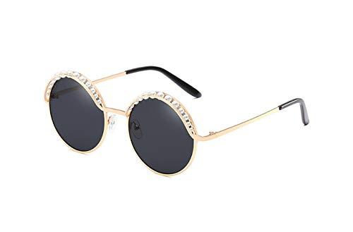 Amazon.com: Kasuki - Gafas de sol redondas para mujer, color ...