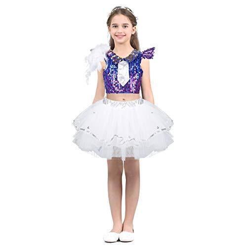 Dance Costumes Hip Hop Dancers - zdhoor Kids Girls Jazz Hip-Hop Dance
