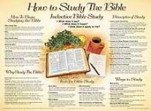 Read Online How to Study the Bible Wall Chart-Laminated (How to Study the Bible Chart) pdf
