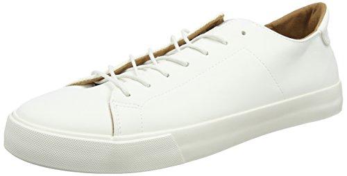 Nouveau Look Smart Herren Wei? Baskets Propre (blanc 10)
