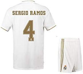 CJM Jersey de Entrenamiento del fútbol del Real Madrid ...