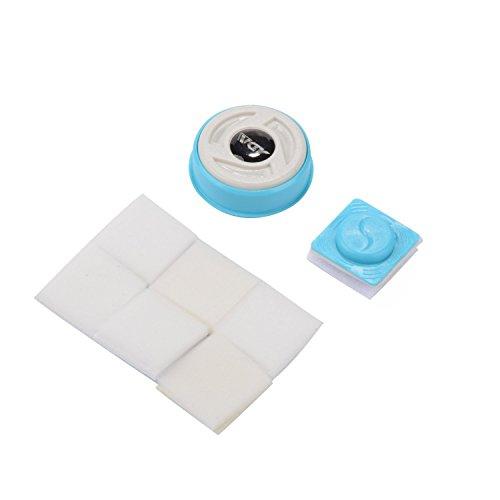 Saim Magnetic Aquarium Glass Cleaner, Aquatic Algae Cleaning Magnet - Mini Glass Aquarium