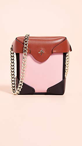 Bag Women's Pristine Chain Atelier Redbole Micro Black MANU Bubblegum with Gold Box qAXRng