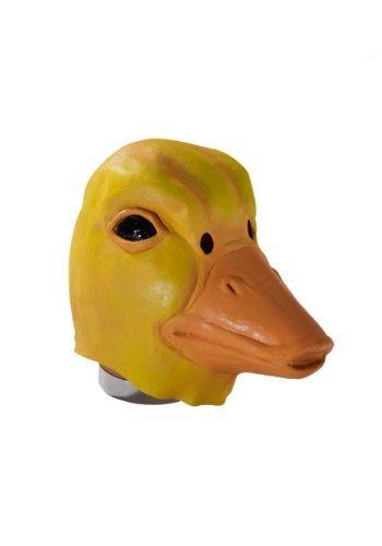 Deluxe Latex Yellow Duck Mask