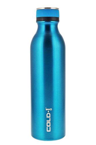 reduce COLD–1, botella de acero inoxidable aislada al vacío Hydro Pro con base de hule antideslizante, sin olor ni sabor,...