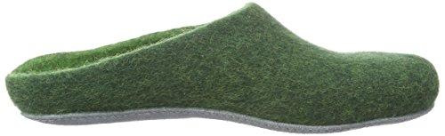 MagicFelt AP 701 Unisex-Erwachsene Pantoffeln Grün (dark green 4818)