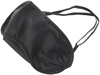 2 Bouchons doreille Noir Masque pour Les Yeux 1 Ensemble Oreiller de Voyage en Forme de U Coussin de Voyage Coussin Repose-Cou Coussin Doux Oreiller Soins de sant/é