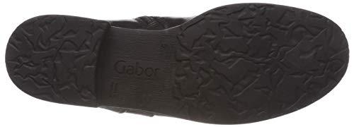 Botines Noir Gabor 57 Shoes schwarz Femme Casual BnqUTq1