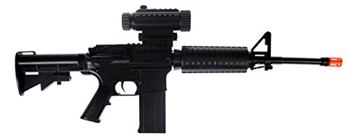 War Inc. Battle Zone M4B Full Auto/Semi-Auto Airsoft AEG Rifle Gun