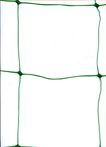 Beans Trellis - Life987 Vegetables and Fruits Trellis Support for Climbing Plants,Vine and Veggie Trellis Net,Climbing Netting Climbing Bean Plant Nets Grow Fence 1.7m x 4m Green 10cm Holes