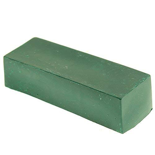 Stone Compound - Polishing Compound Fine Green Buffing Compound 2 OZ Leather Strop Sharpening Polishing Compounds
