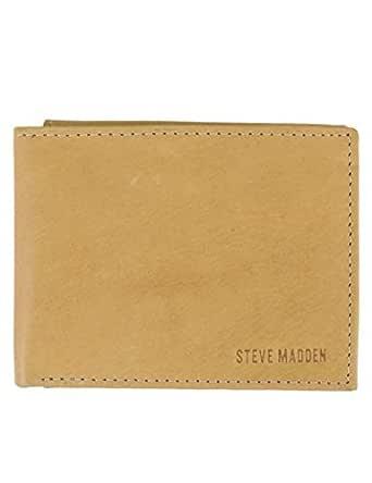 Steve Madden Summer 18 Mens Wallet, Tan, One Size - N80001