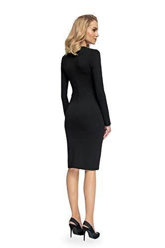 Kleid mit Schwarz Enges Ausschnitt Clea RTqFxF