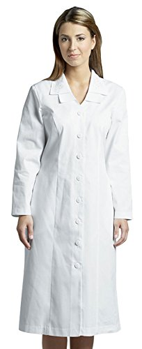 Women's Lightweight White Group / Usher Dress - Embroidered Double Collar, - Usher Uniform