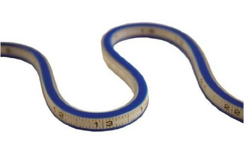 Helix Flexible Curve Graduated, 24 Inch, Blue (21475) by Helix