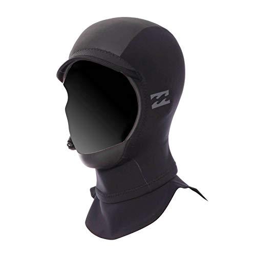 (Billabong 2mm Furnace Carbon GBS Hood Wetsuit Hood Large Black )