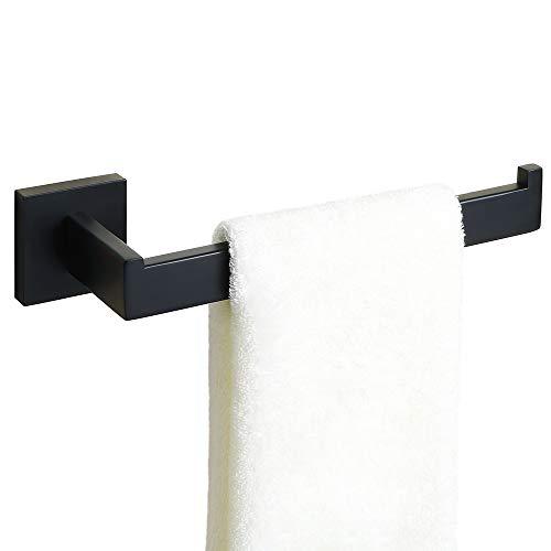 Alise GS7010-B Bathroom Towel Ring/Rack Towel Holder Wall Mount,SUS304 Stainless Steel Matte Black