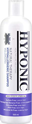 HYPONIC Hypoallergenic Premium Natural Therapy Dog Shampoo