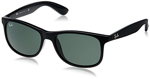Ray-Ban Andy RB4202 606971 Non-Polarized Sunglasses, Matte Black/Dark - Bans Dark Ray