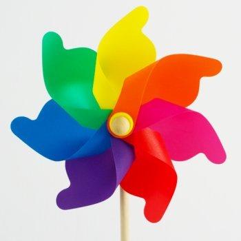 Gut gemocht CIM Windspiel - Moulin 31 Rainbow - UV-beständig und wetterfest AN85