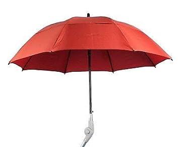 adhome - Paraguas para andador, color rojo: Amazon.es: Salud ...