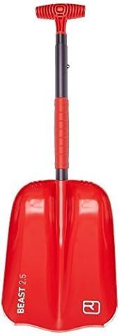 Ortovox Beast Shovel - Red, One Size by Ortovox - Ortovox Shovel