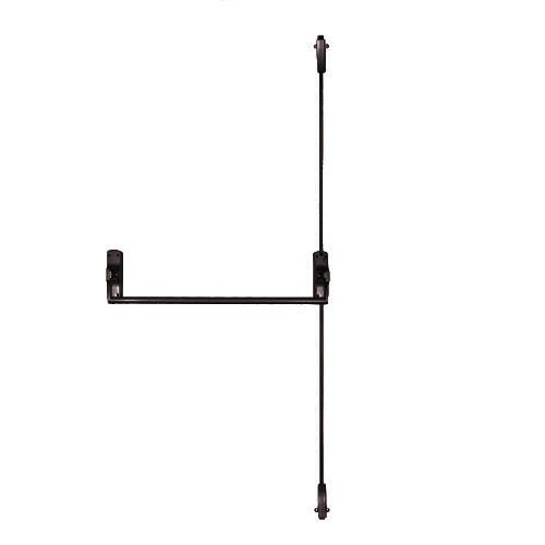 Trans Atlantic ED-VR331-DU Crash Bar Vertical Surface Rod Exit Device, Duranodic by Taco