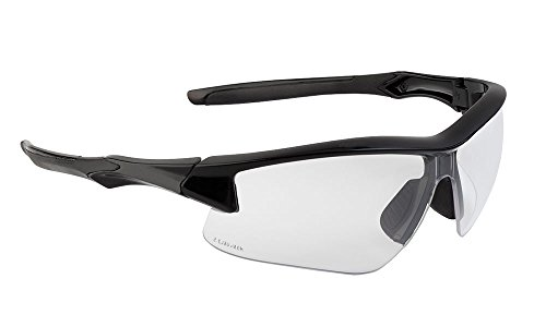 (Howard Leight by Honeywell Uvex Acadia Shooting Glasses with Uvextreme Plus Anti-Fog Lens Coating, Clear Lens (R-02214))