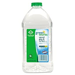 Green Works 00460 Commercial Solutions Glass and Surface Cleaner, 64 fl oz Refill