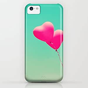 Society6 - Pink Heart Balloons iPhone & iPod Case by AC Photography