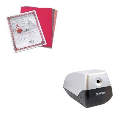 KITEPI1900PAC103637 - Value Kit - X-acto Model 1900 Desktop Electric Pencil Sharpener (EPI1900) and Pacon Riverside Construction Paper (Model 1900 Electric Pencil Sharpener)
