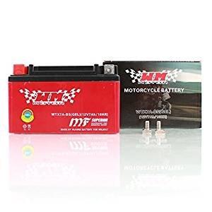 MOTORRAD ROLLER QUAD BATTERIE WTX7A-BS YTX7A-BS 7AH 12V