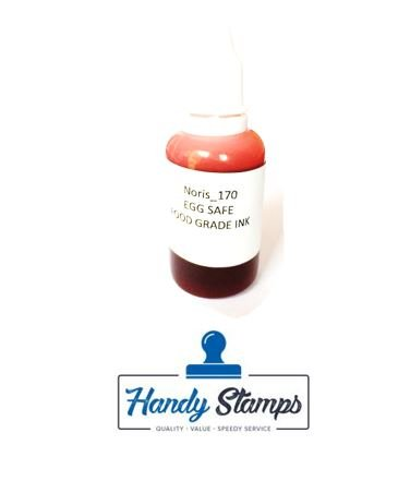 Amazon.com : Water Based Egg Safe Food Grade Ink 1/2oz Red : Office ...