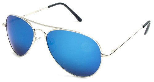817660924 Image Unavailable. Image not available for. Color: Multi-Colored Mirrored  Aviator Sunglasses ...