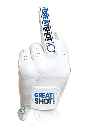 Great Shot Golf Glove The Birdie AAA Premium Cabretta Leather (X-Large, Worn on Left Hand)