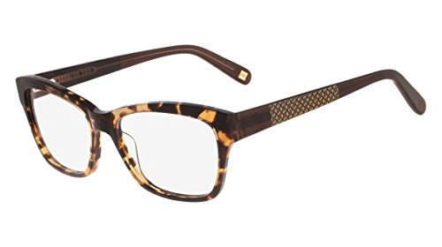 f5e53bcfb1b Image Unavailable. Image not available for. Color  Nine West Eyeglasses  NW5070 239 Amber Tortoise ...