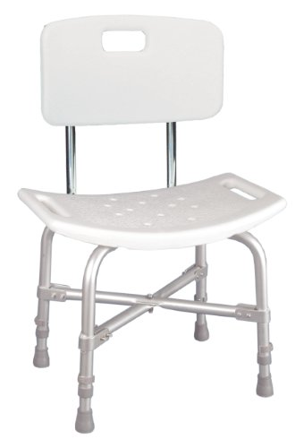 Extra Wide Heavy Duty Bariatric Bath Bench Shower Tub Chair Seat with (Extra Wide Bariatric Chair)