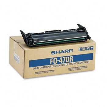 Sharp® FO47DR Drum Cartridge DRUM,FO4700,YLD 20,000 (Pack of2) - Fo47dr Fax Drum