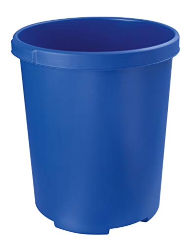 HAN 1836-14 Waste-Paper Bin 50 Litres Polypropylene Cone-Shaped 350 / 430 mm / 490 mm, 50 L Blue