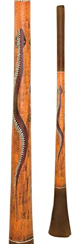 Baked wood Didgeridoo Paint 67 inch (Tone E)